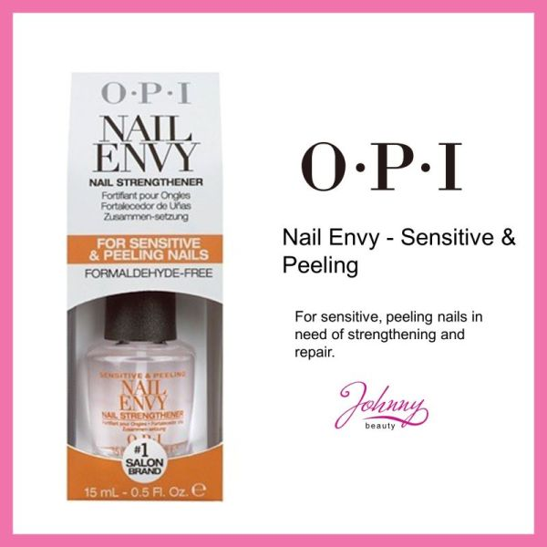 Buy OPI Nail Envy Nail Strengthener For Sensitive and Peeling Nails Singapore