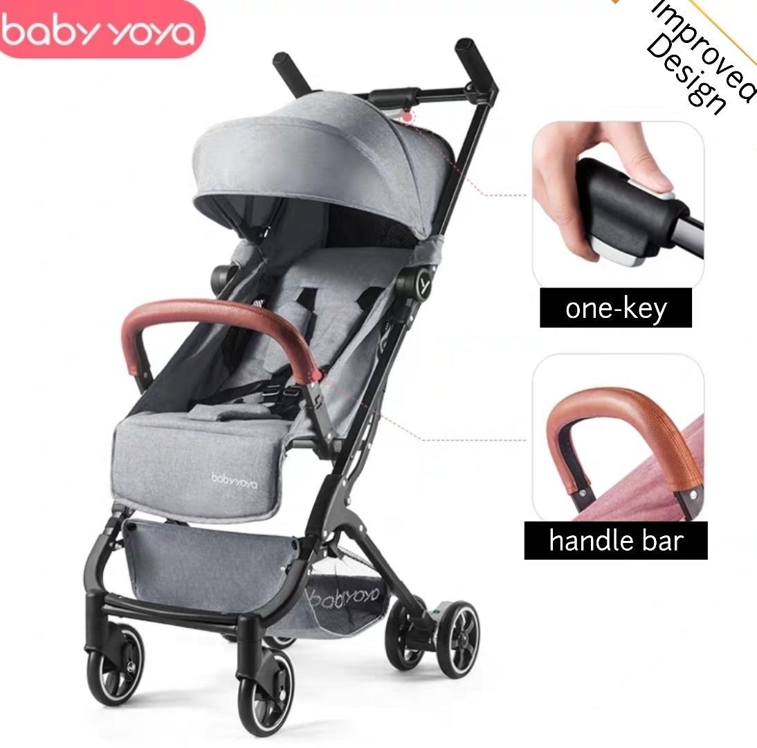 Baby Noble Yoya 2019 Stroller | improved design | 5.4kg Travel System | Baby Strollers Singapore