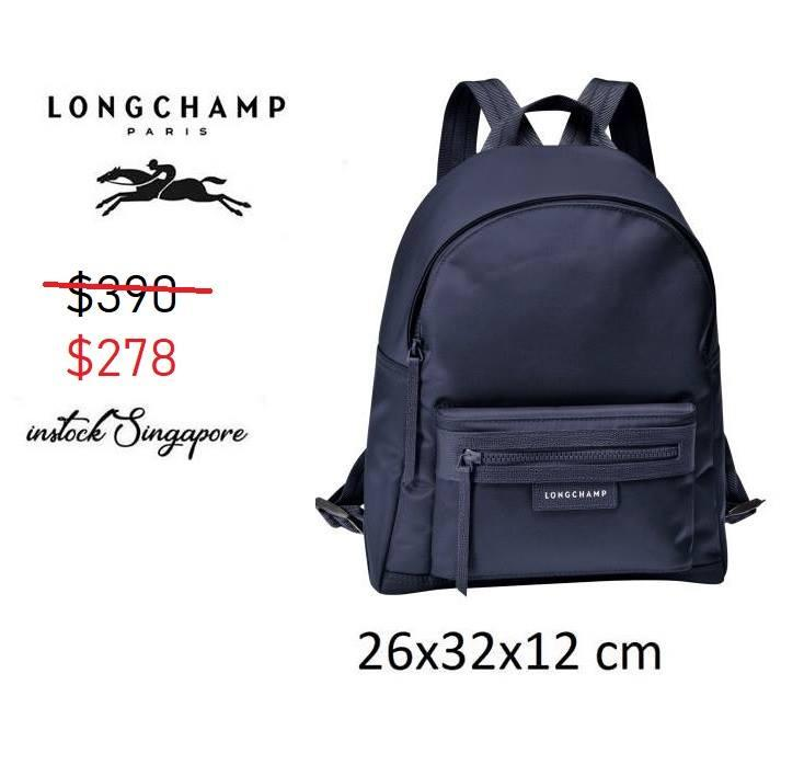 Longchamp LE PLIAGE NEO top zipped backpack nylon L1118 5e67d8fba14d6
