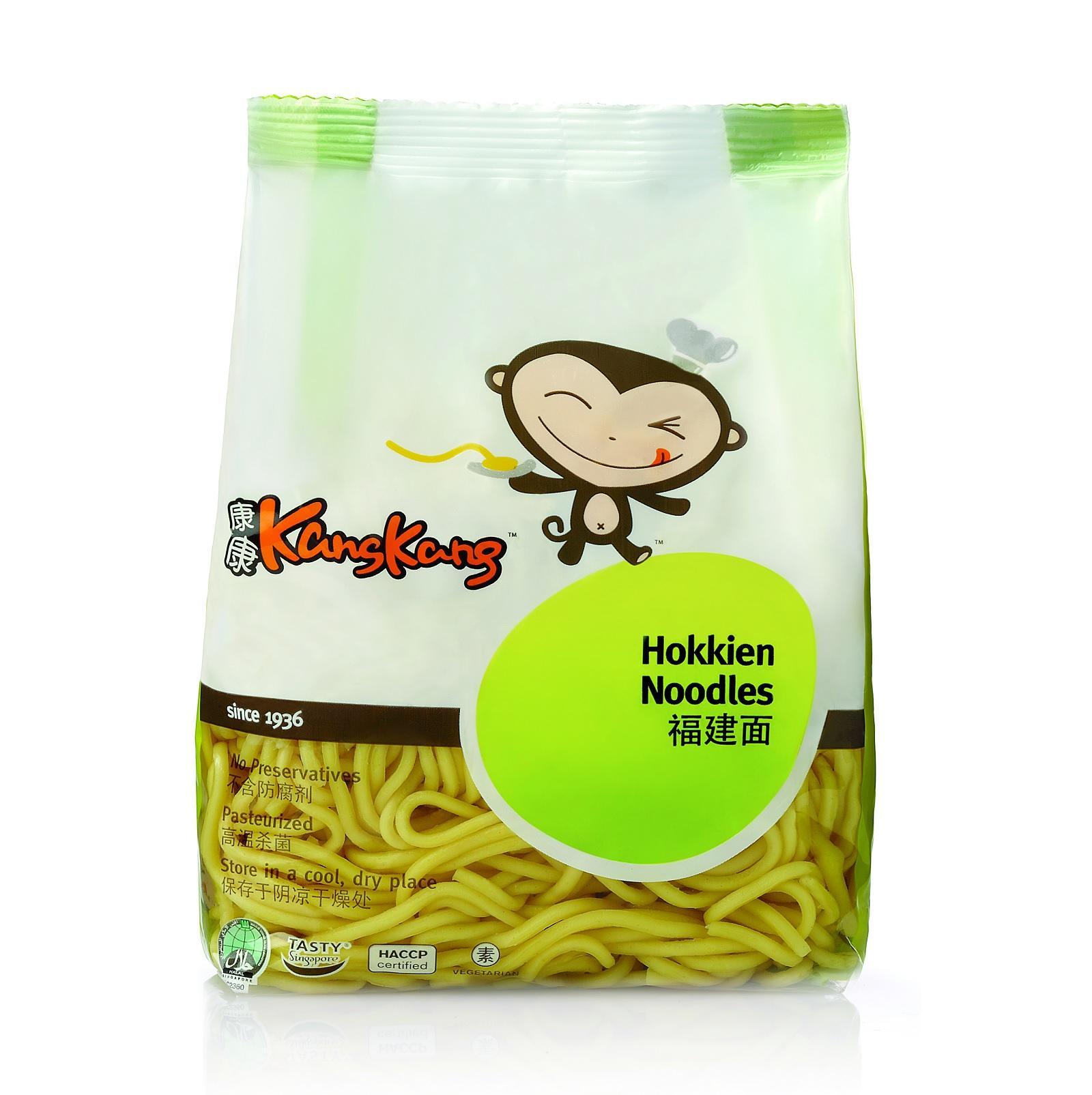 Kang Kang Pasteurised Hokkien Noodles By Redmart.