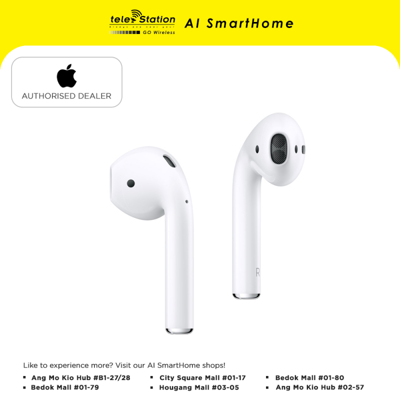 Apple AirPods (1 Year Local Warranty) Singapore