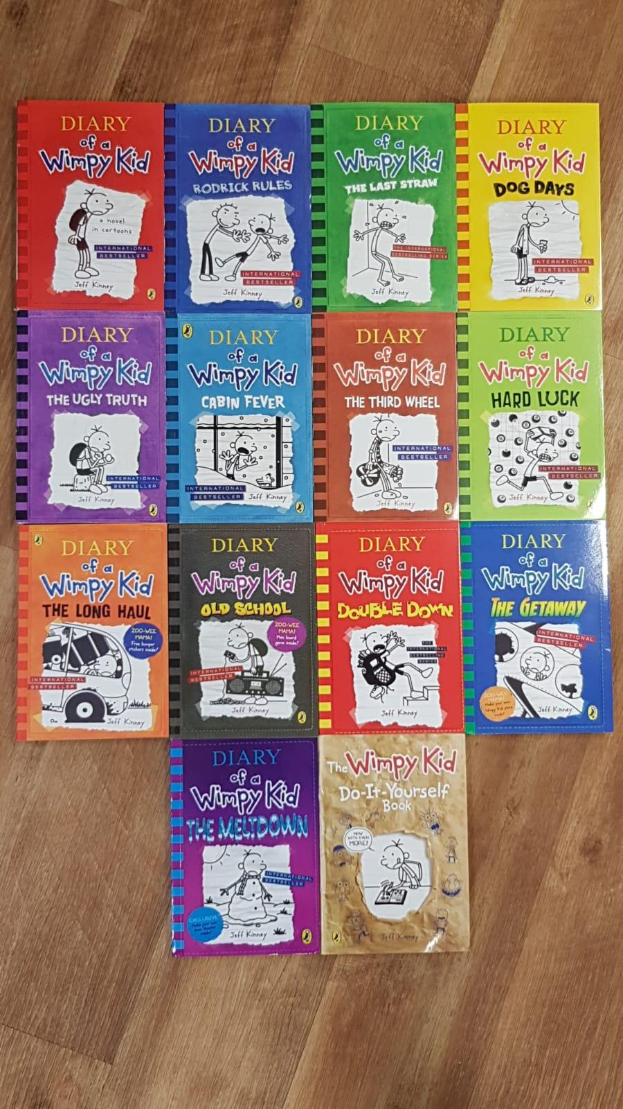 [14 Books] - Diary of a Wimpy Kid