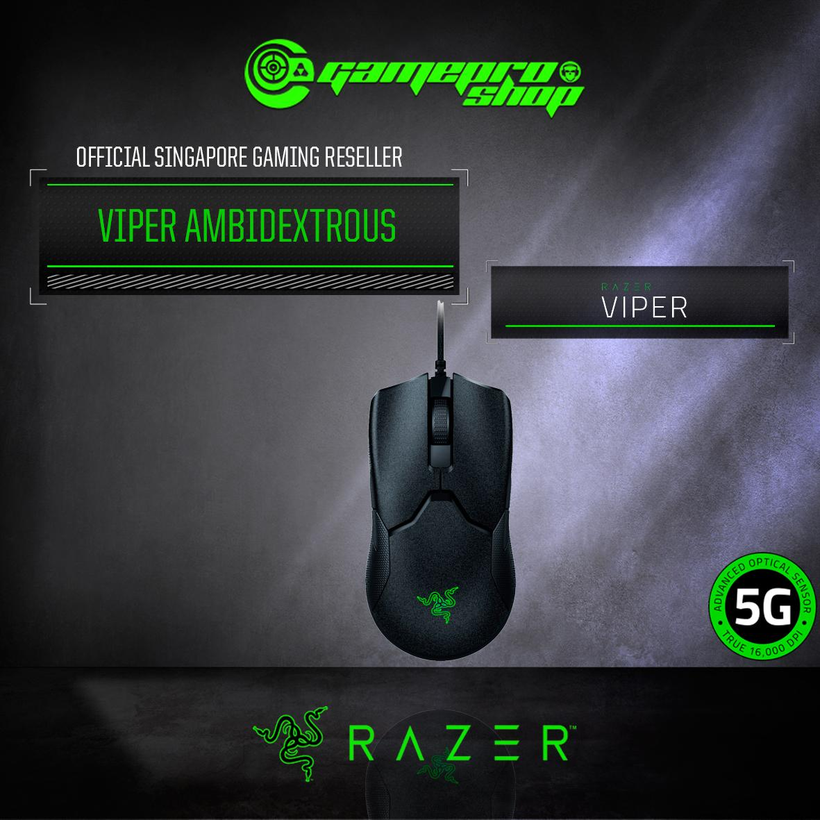 Razer Viper - Ambidextrous Wired Gaming Mouse *10.10 PROMO*