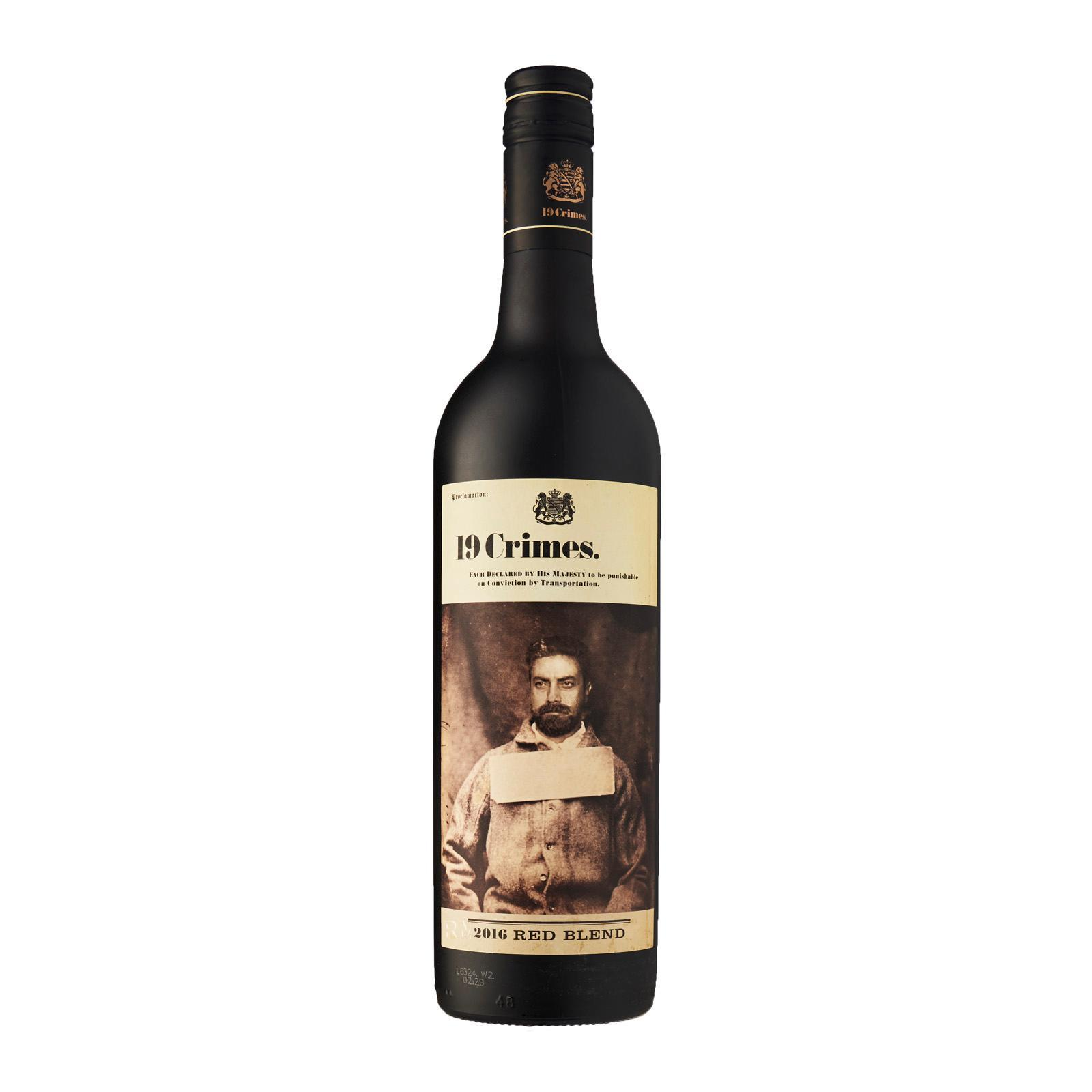 19 Crimes Red Blend Bold Red Wine