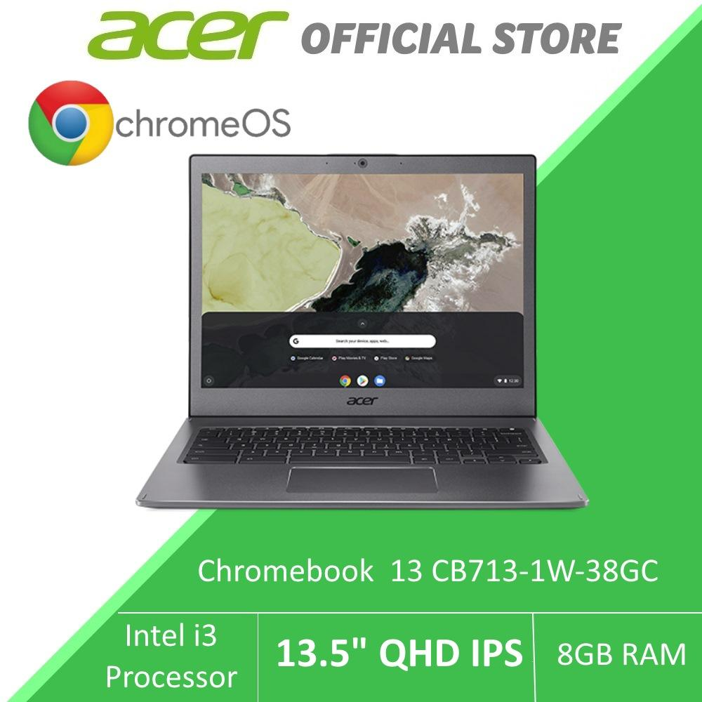 Acer Chromebook 13 CB713-1W-38GC -13.5-inch QHD IPS Display