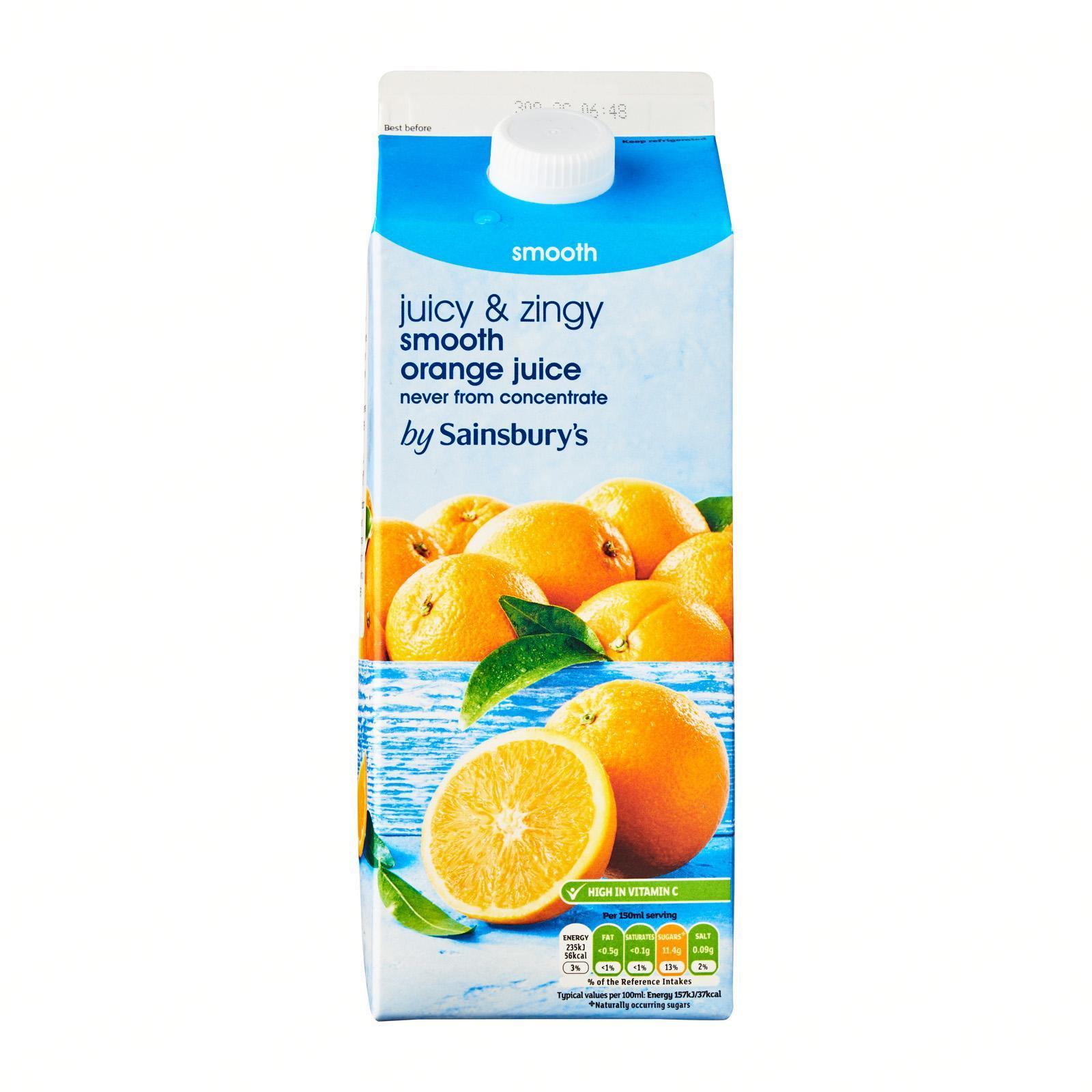 Sainsbury's Smooth Orange Juice