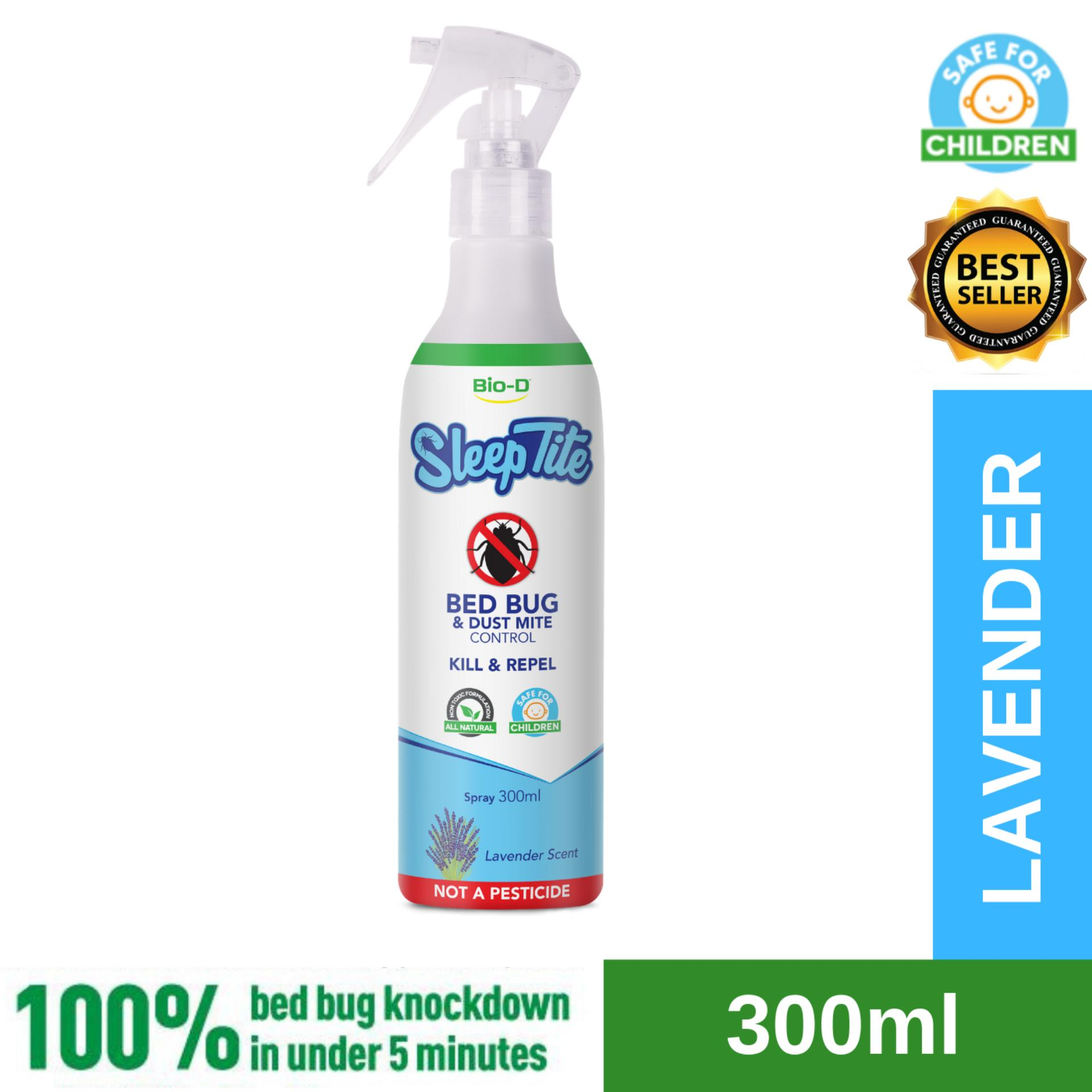 Bio-D SleepTite Bed Bug & Dust Mite Control Spray 300ml (Lavender)