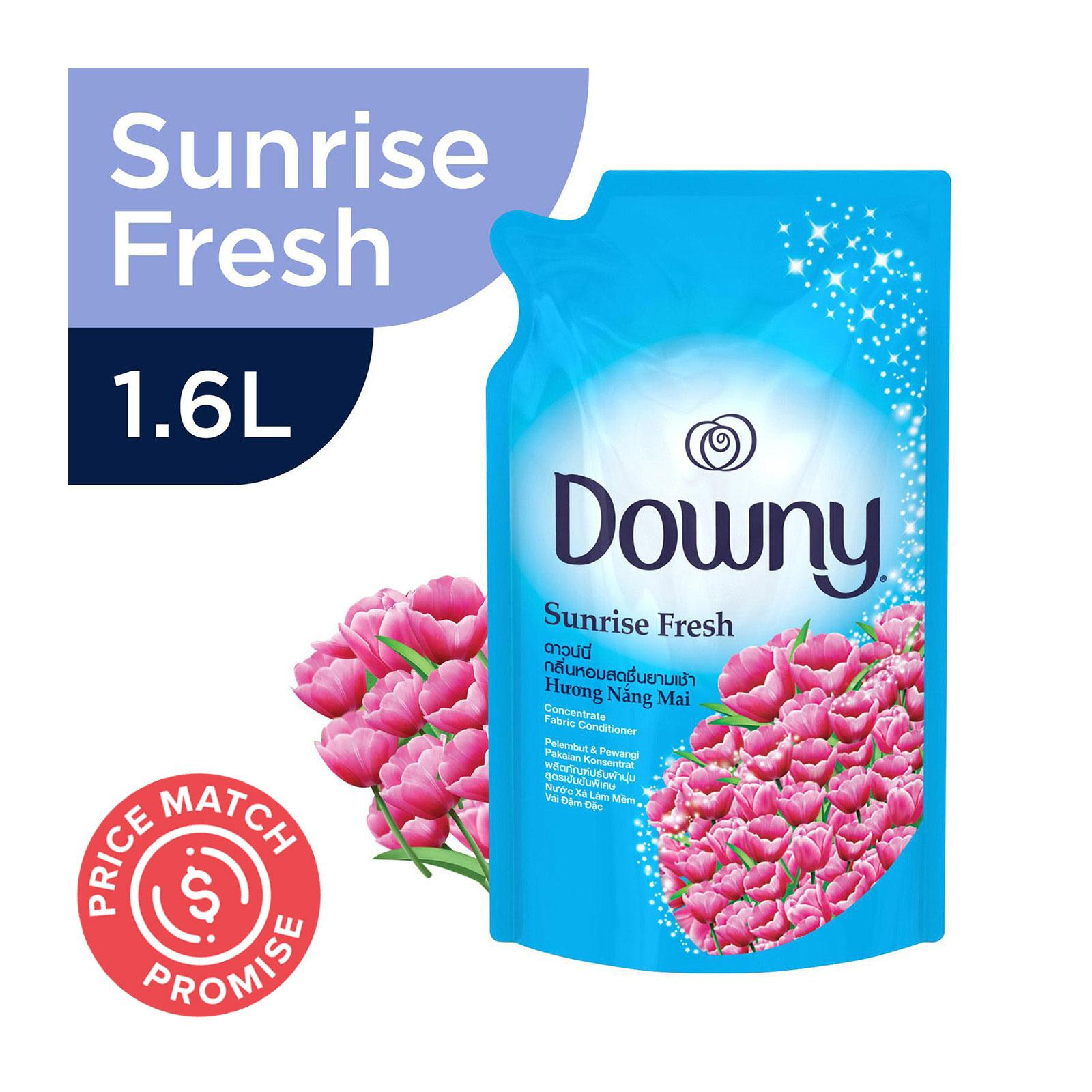 Downy Sunrise Fresh Concentrate Fabric Softener Refill