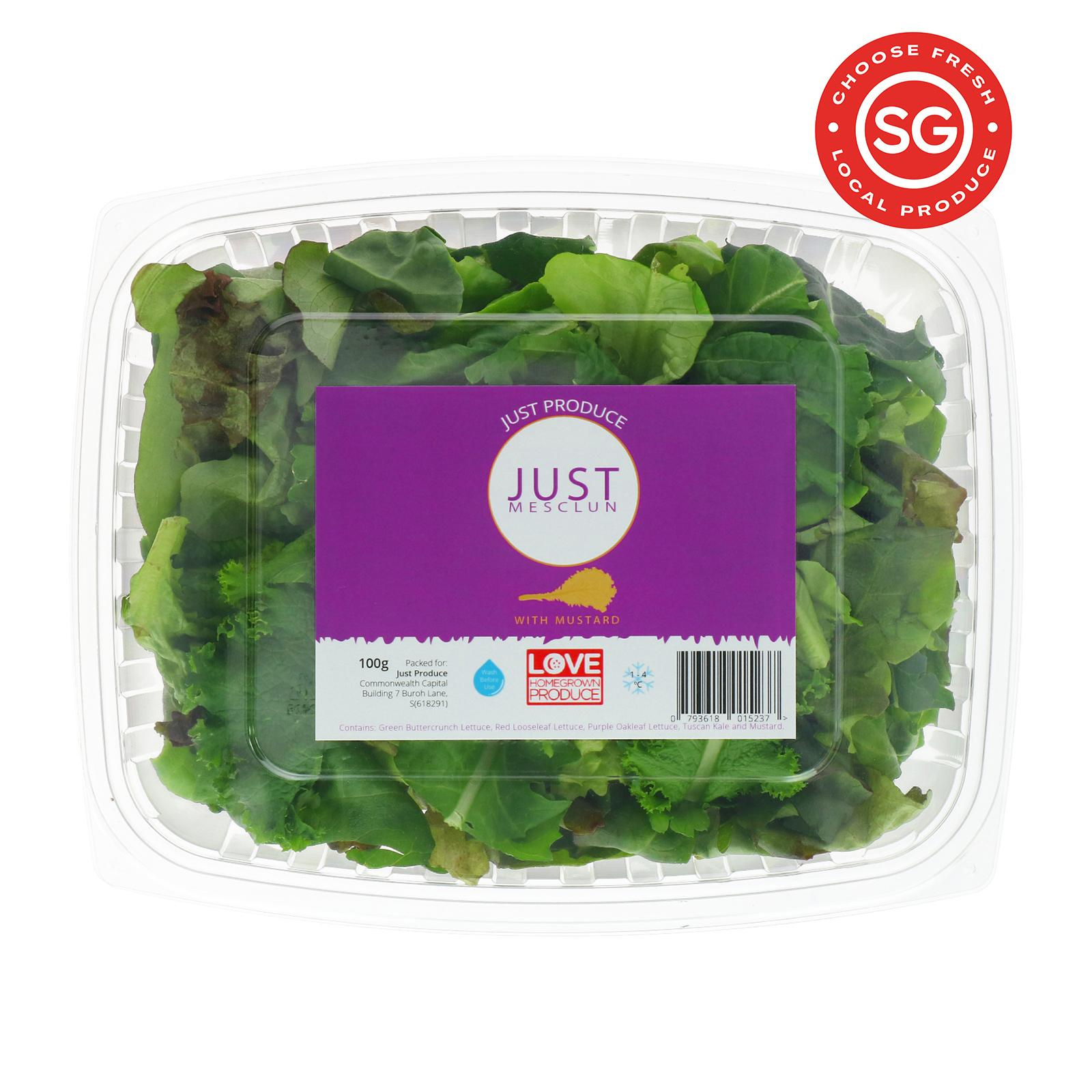 JUST PRODUCE Just Mesclun and Mustard