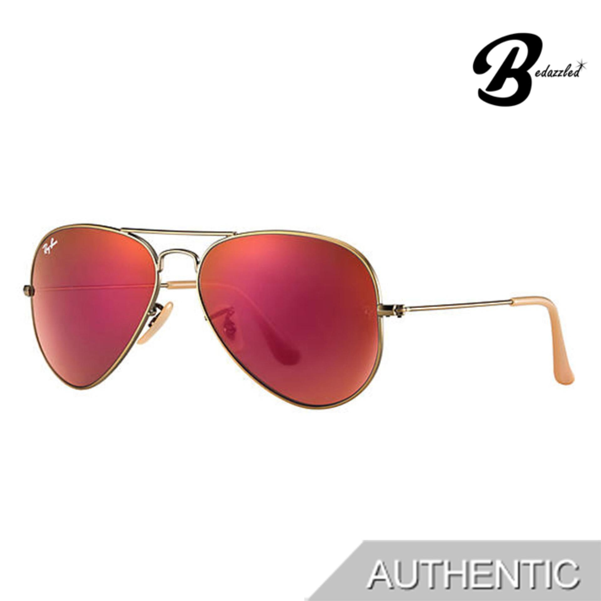 Ray-Ban Aviator Flash Lenses 0rb3025167/2k58 By Bedazzled.