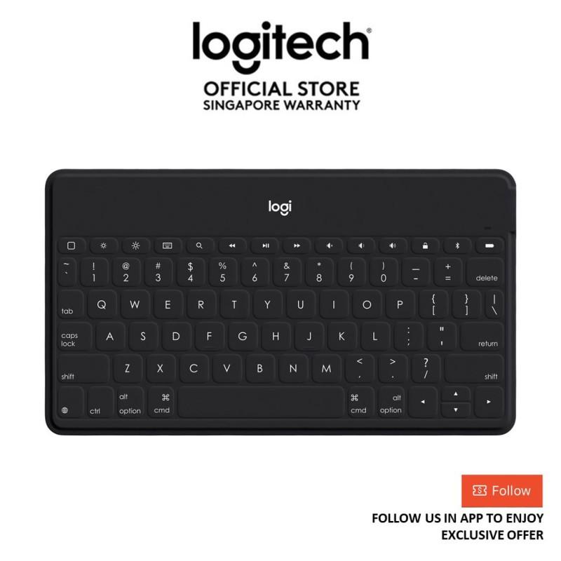 Logitech Keys-to-Go Portable Wireless Keyboard for Apple Devices - EBL (logitech keyboard) Singapore