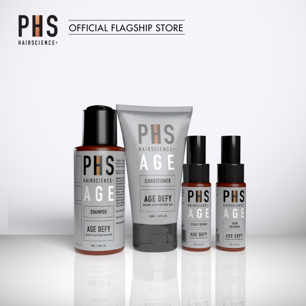 Buy PHS HAIRSCIENCE AGE Defy Daily Regime Starter Kit (Worth SGD 67) Singapore
