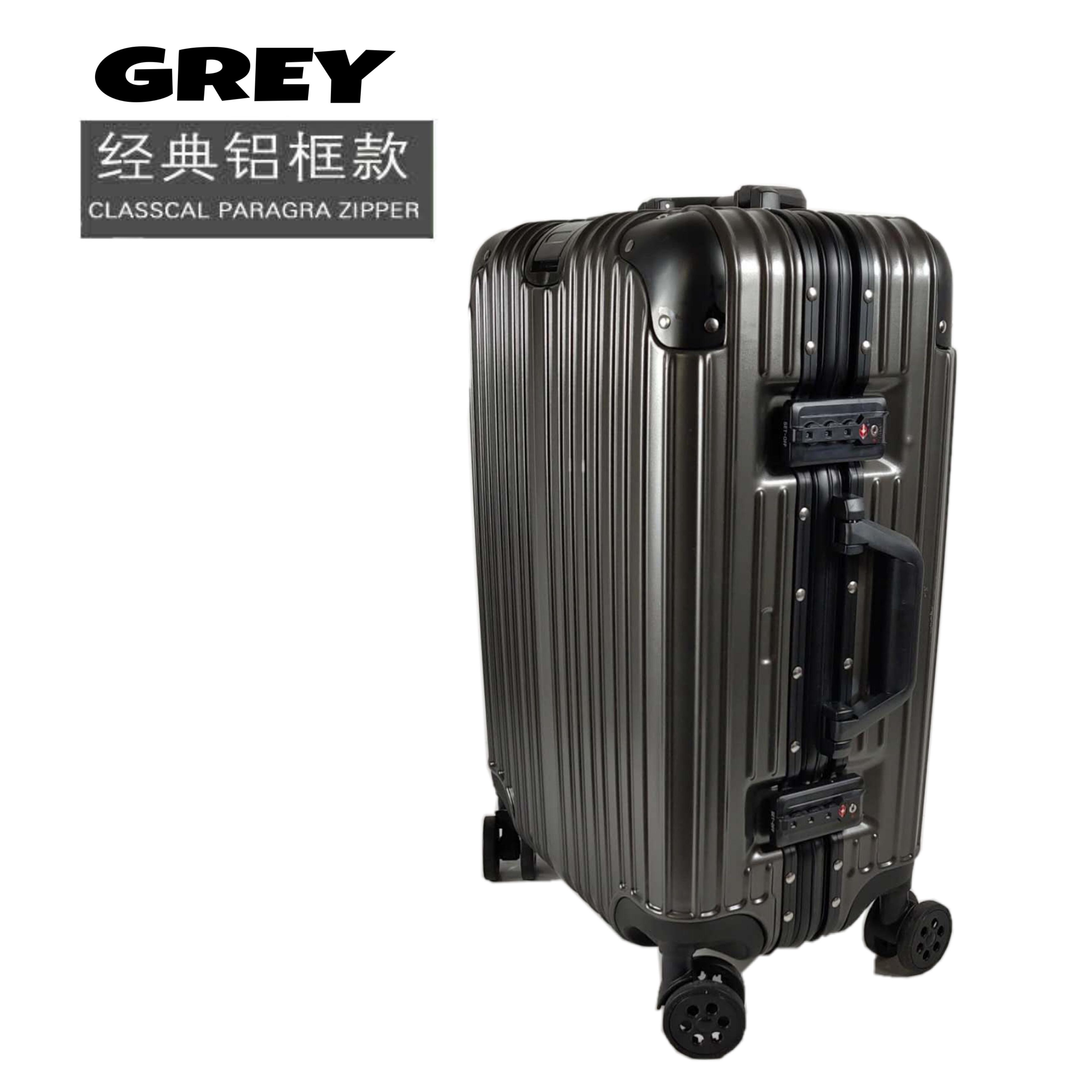 d1a01ee4bf44 New Aluminium Alloy Frame Travel Luggage Case With TSA Lock   Cabin Size Suitcase  Trolley Bag