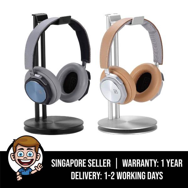 Premium HeadStand High-Design Aluminium Headphone Stand Hanger - Black / Silver Singapore