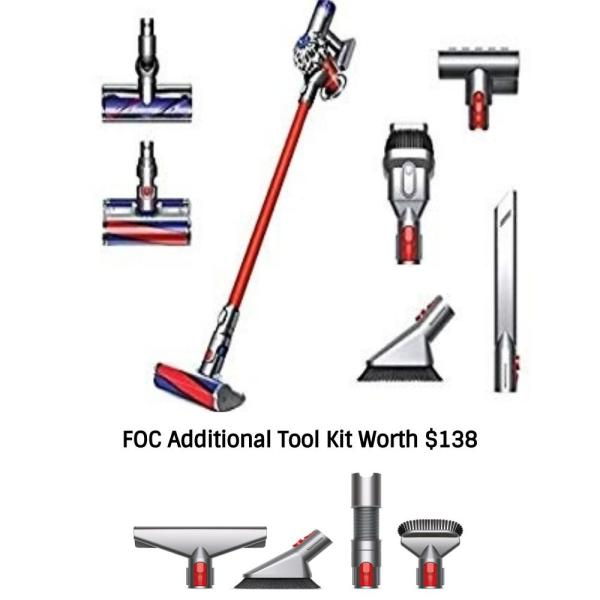 Dyson V7 Absolute (SV11) FOC Additional Tools Kit Singapore