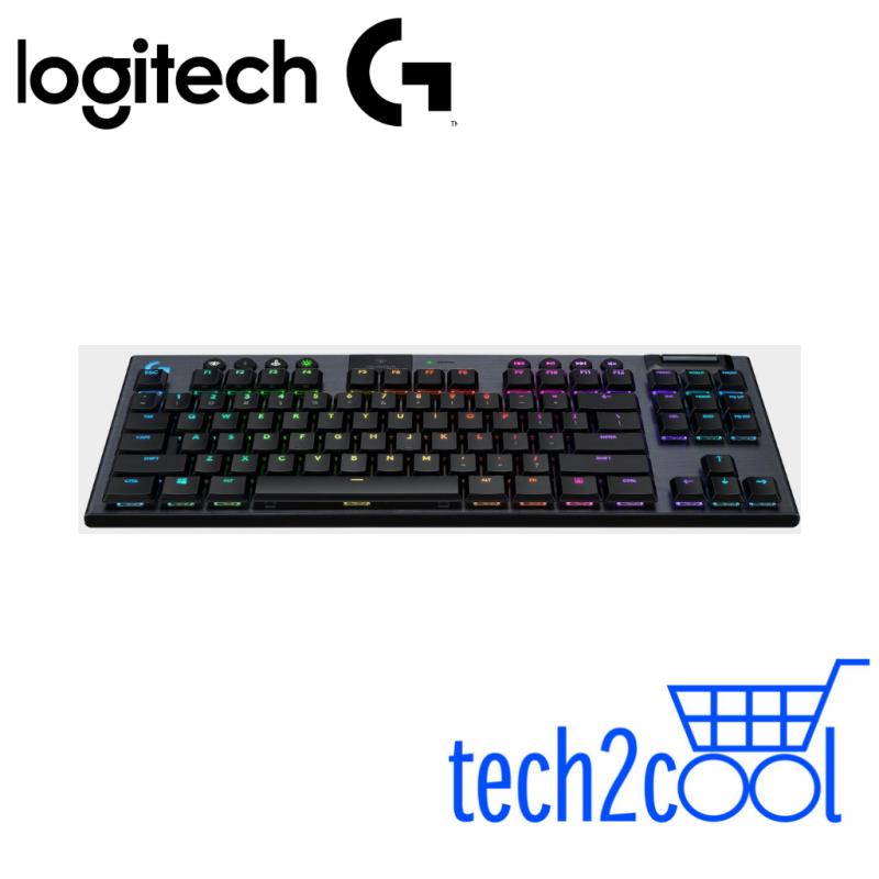 Logitech G915 TKL GL Tactile Lightspeed Wireless Gaming Mechanical Keyboard #Promotion Singapore