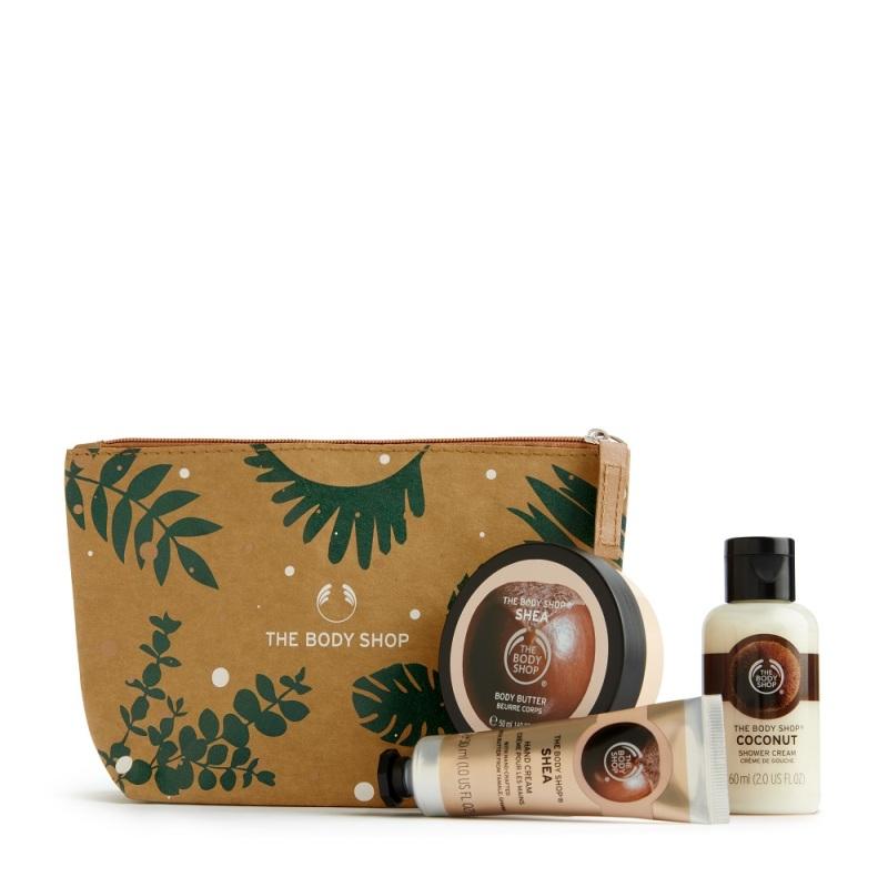 Buy The Body Shop Nourishing Shea & Coconut Gift Pouch (Christmas Gift Set) Singapore