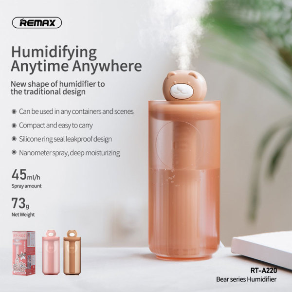 #744 REMAX BEAR HUMIDIFIER Singapore