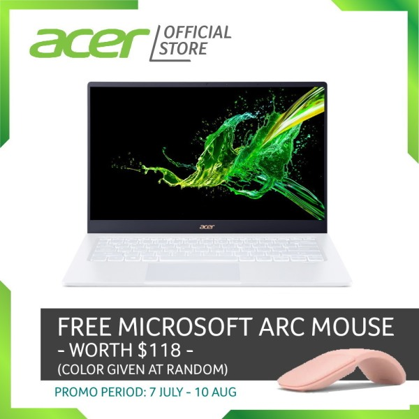 Acer Swift 5 SF514-54GT-753S Thin and light Touch Screen laptop with LATEST 10 Gen Intel i7-1065G7 processor and 16GB RAM