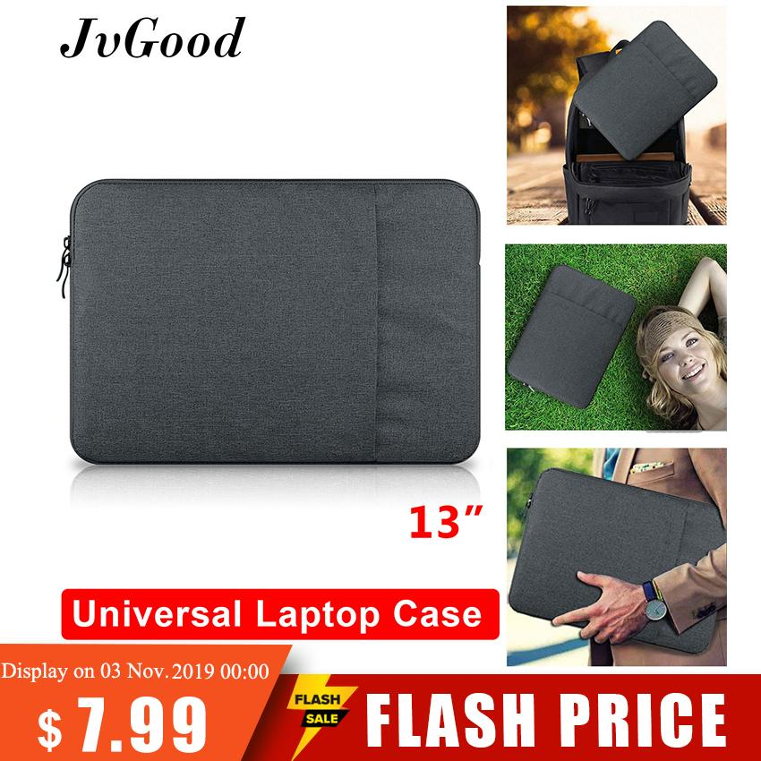 JvGood Laptop Case Bag 13 Inch Protective Cover Case Laptop Sleeve 13.3 Inch Notebook Bag for Apple MacBook Air Pro 13 Case