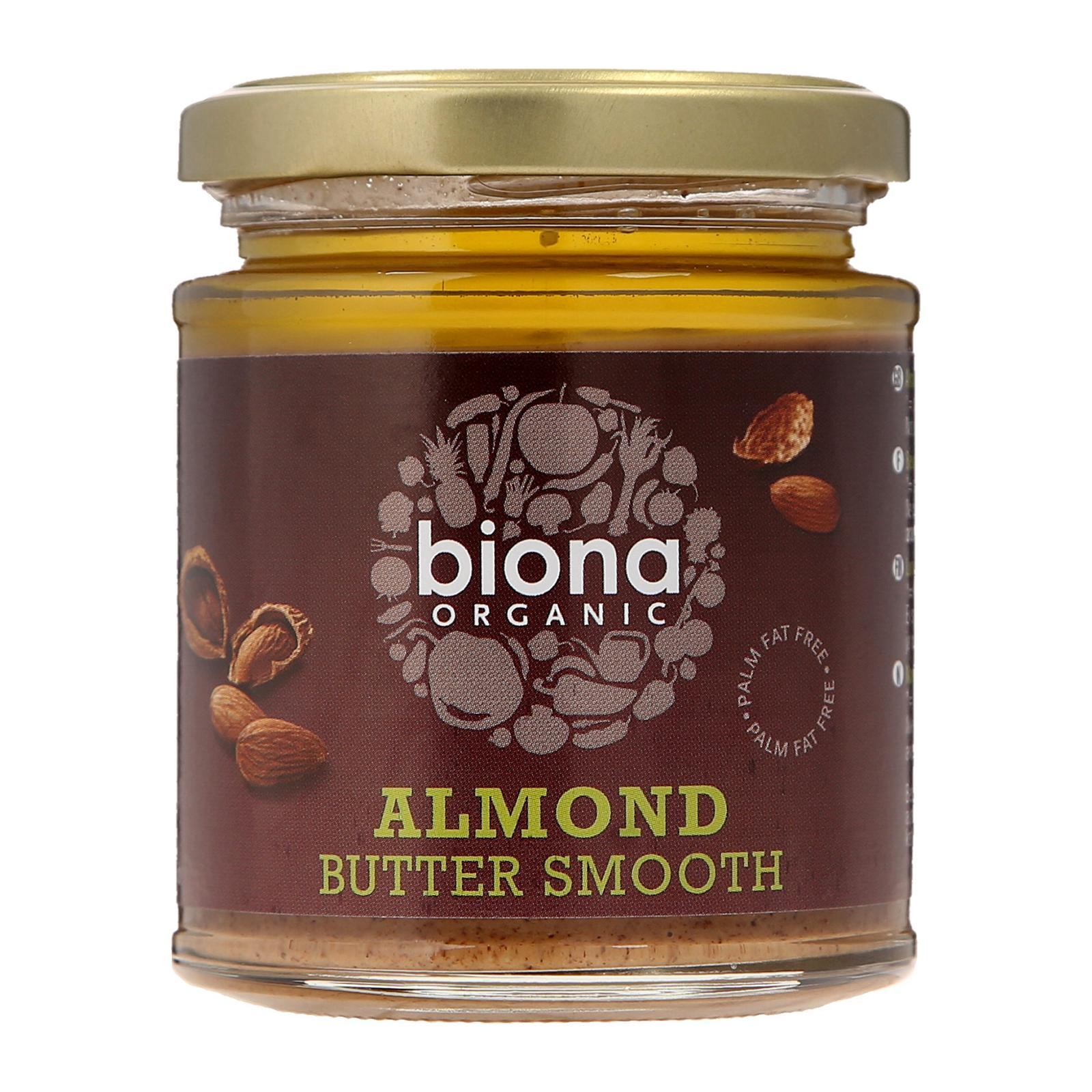 Biona Organic Almond Butter - Smooth - By Wholesome Harvest