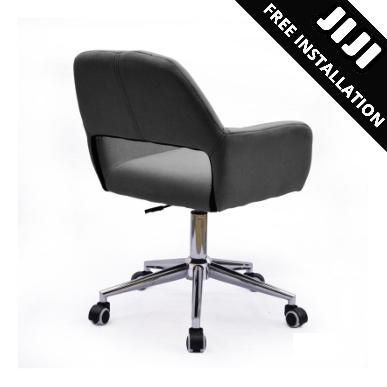 JIJI Office Supervisor Chair Ver 2 (Free Installation) - Office chair/Study chair/Gaming chair/Ergonomic/ Free 12 Months Warranty (SG)