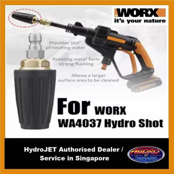 Worx HydroShot Turbo Nozzle WA4037