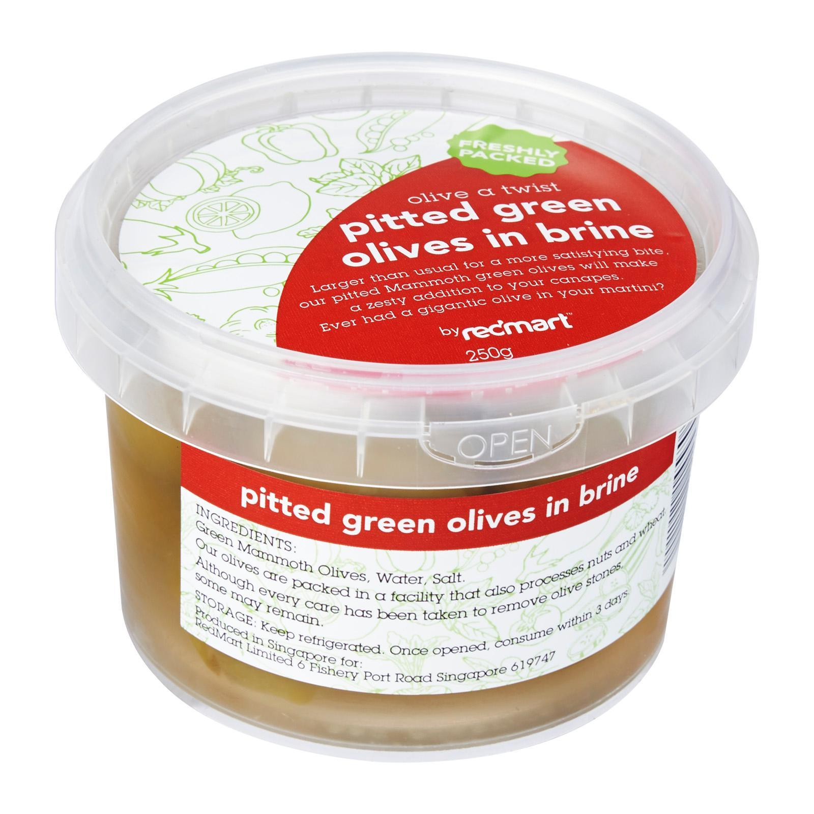 Redmart Pitted Green Olives In Brine By Redmart.