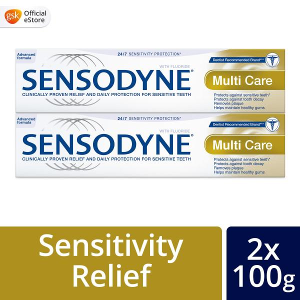 Buy [Bundle of 2] Sensodyne Sensitive Multi Care Toothpaste, 100g Singapore