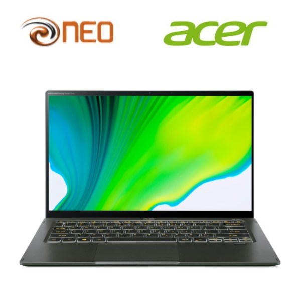 Acer Swift 5 SF514-55T-71SL (Green) laptop with LATEST 11th Gen Intel i7-1165G7 processor