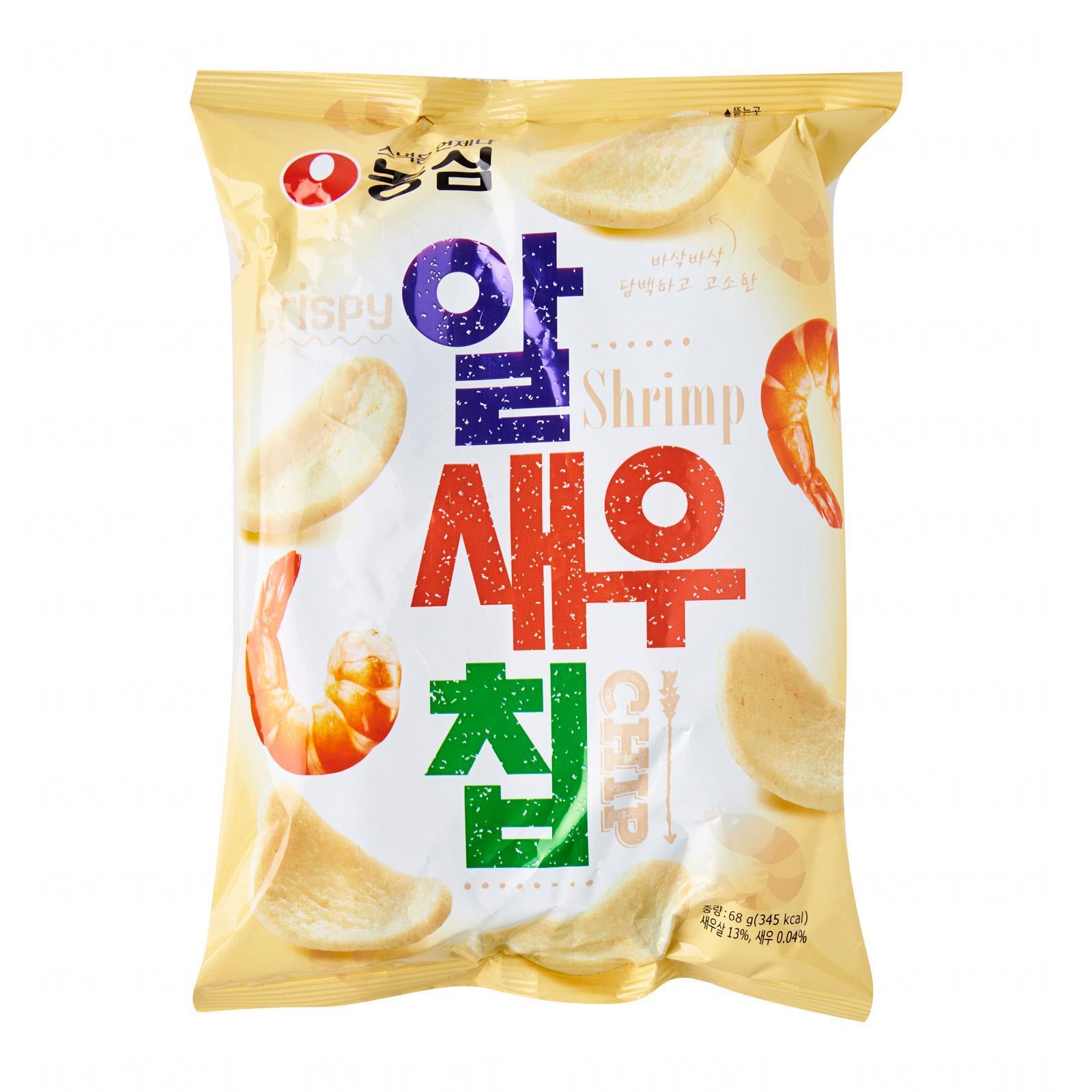 Nongshim Korean Shrimp Cracker Snacks
