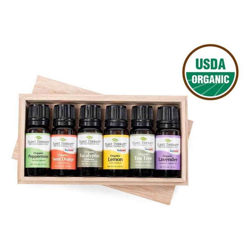Buy Plant Therapy Top 6 Singles Organic Essential Oil 10 mL Singapore