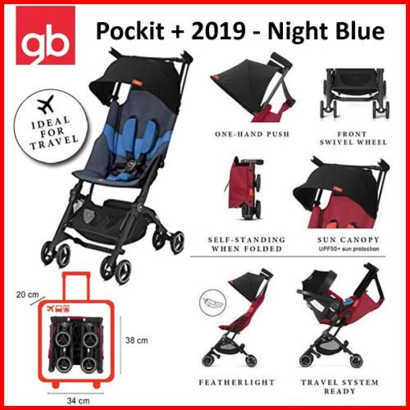 GB Pockit+ Plus Gold All Terrain Stroller (2019) FREE TRAVEL BAG worth $199.00 (4 colors available) Singapore