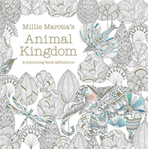 Millie Marotta's Animal Kingdom: a colouring book adventure PB (9781849941679)