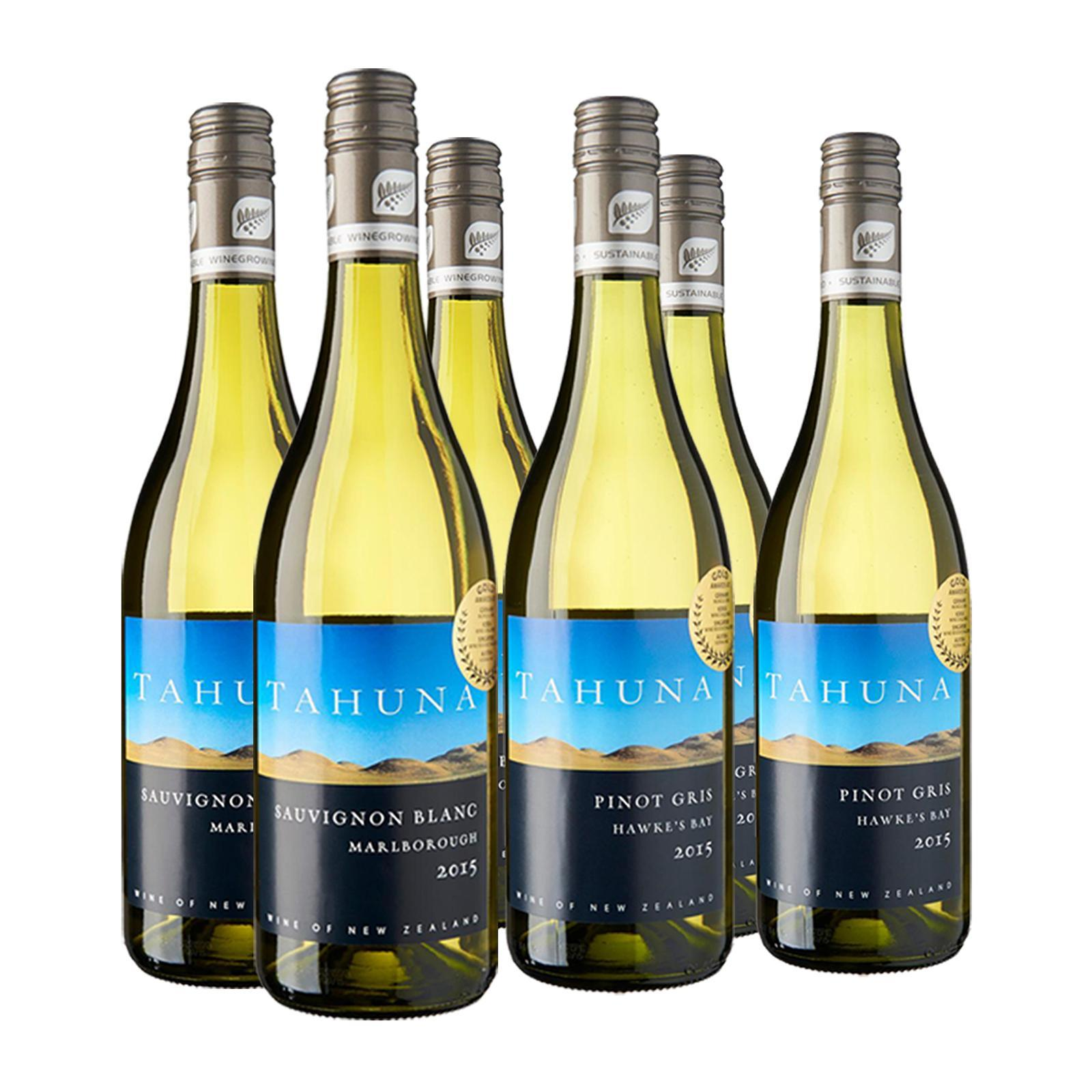 Tahuna Assorted White Wine - Case - By Letat-Wine and Sakes
