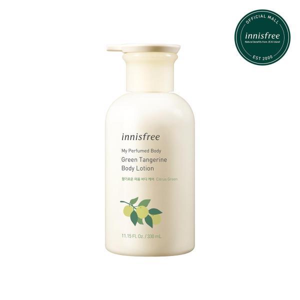 Buy innisfree My Perfumed Body Lotion, Green Tangerine 330ml Singapore
