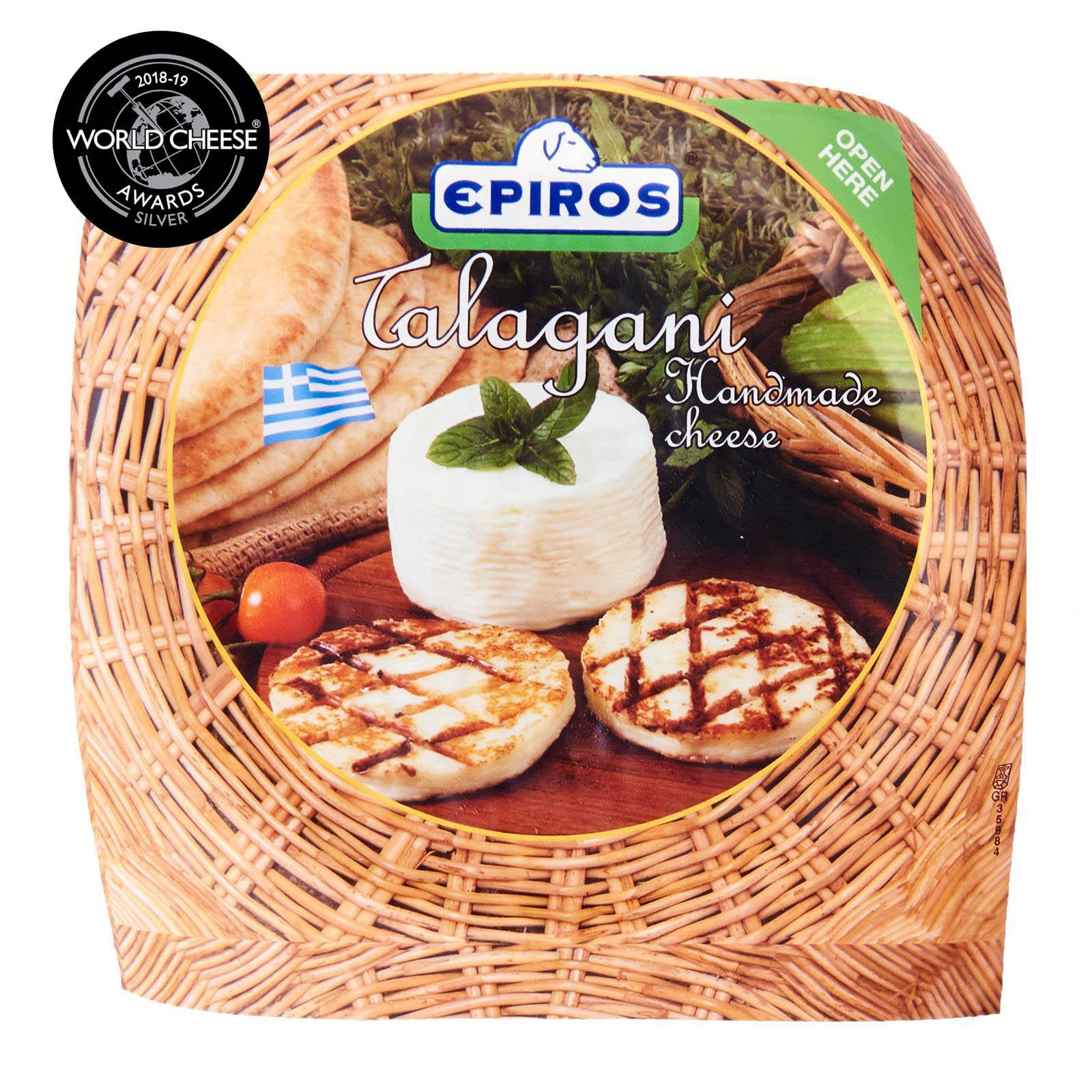 Epiros Talagani Haloumi Type Handmade Grilled Greek Cheese x 2 slices - By Agora Products