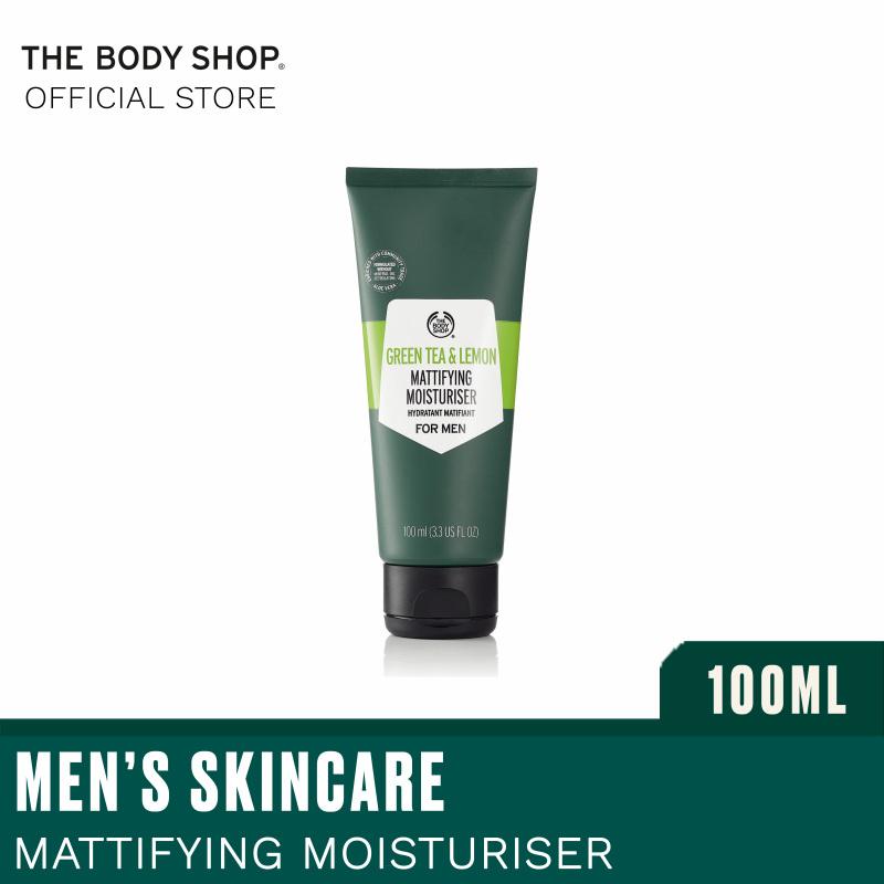 Buy The Body Shop  Green Tea and Lemon Mattifying Moisturiser For Men 100ml Singapore