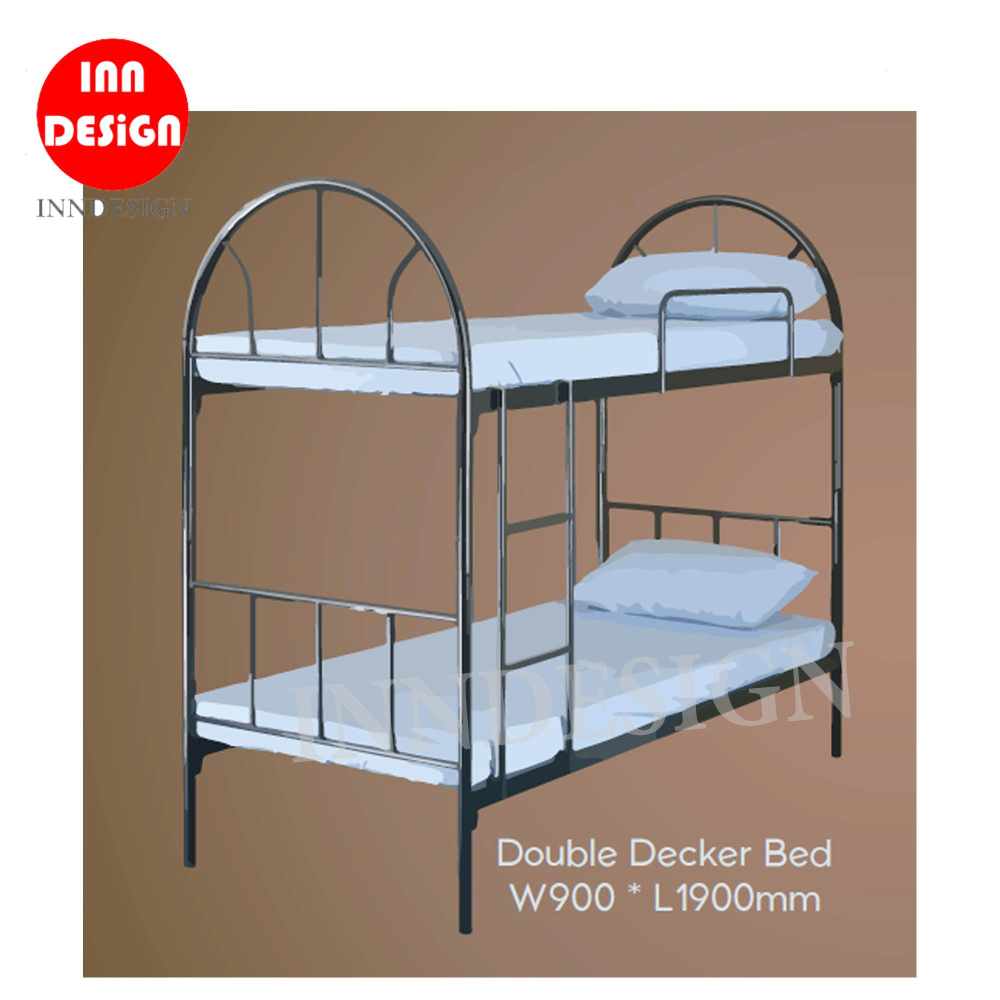 INNDESIGN Double Desker Bed (Single) (Free Delivery and Installation)