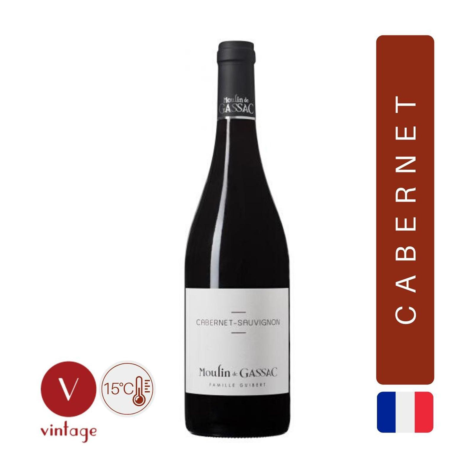 Moulin De Gassac - Cabernet Sauvignon - Red Wine - By The Vintage Wine Club