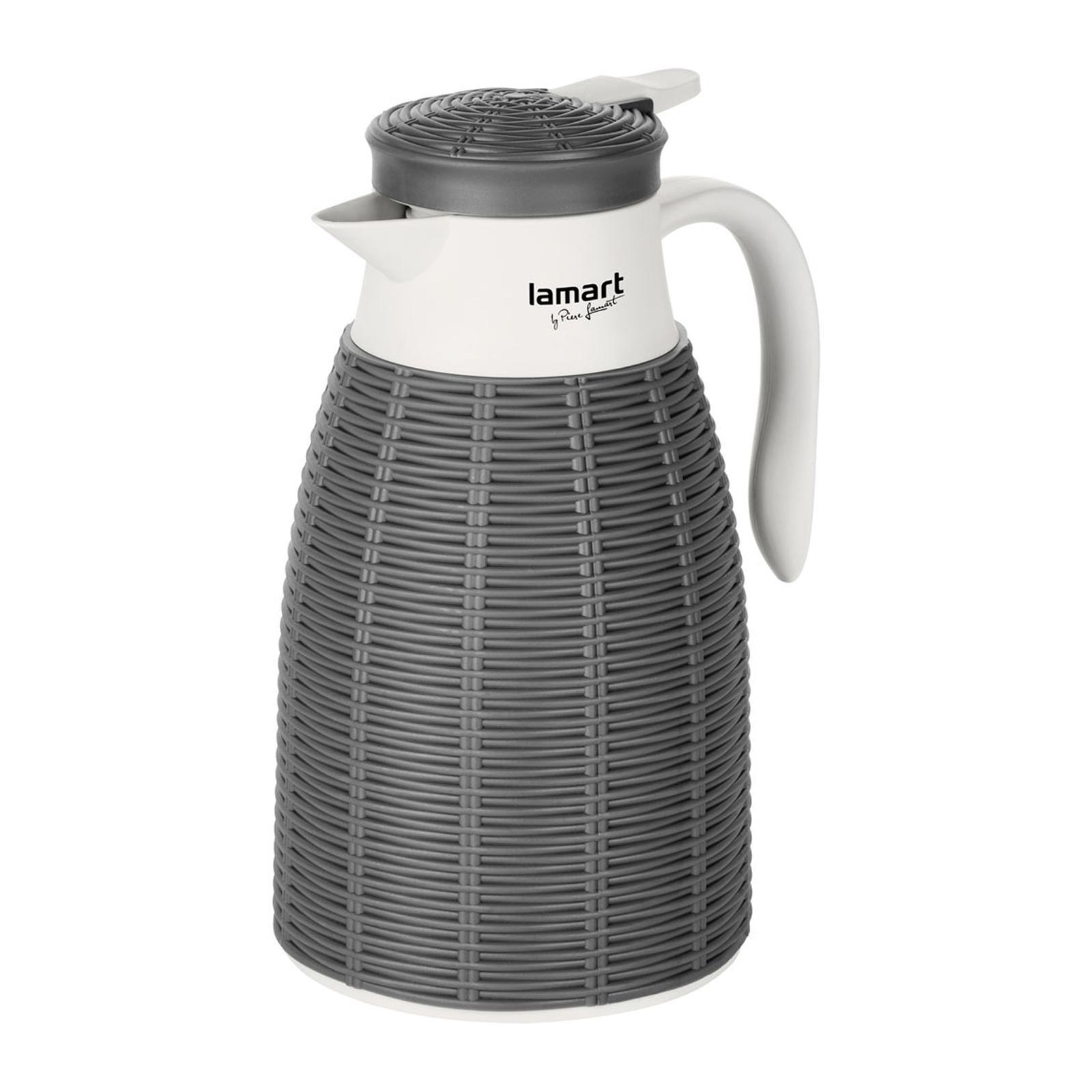 Lamart Vacuum Flask 1L - Ratan Grey
