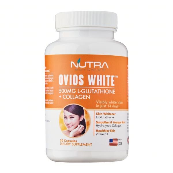 Buy Nutra Botanics Ovios White L-Glutathione Skin Whitening Pill Singapore