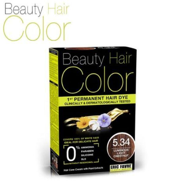 Buy Beauty Hair Color (BHC) 5.34 Luminous Light Chestnut Singapore