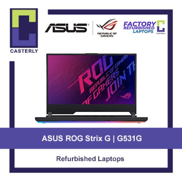 [Refurbished] 2 Variants / ASUS ROG Strix G G531G / i7-9750H / i5-9300H / GTX 1650 / Windows 10