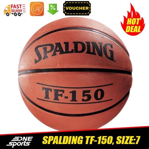Spalding Tf-150 Size:7 Outdoor Basketball By One Sports.