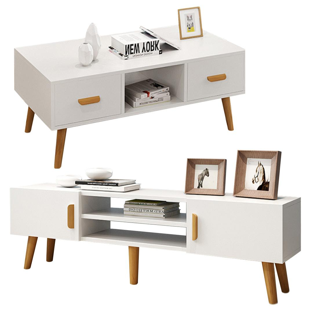 JIJI (Narnia Living Room Package) (FREE Installation) - Furniture / Coffee Table / TV Console (SG)