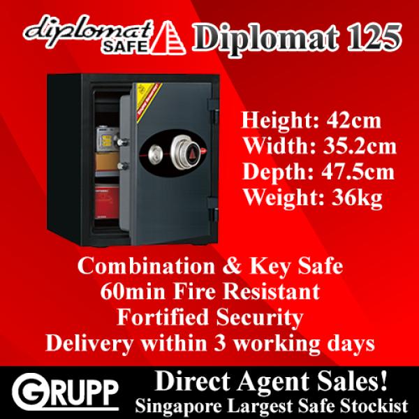Diplomat 125KC Fire Resistant Safe