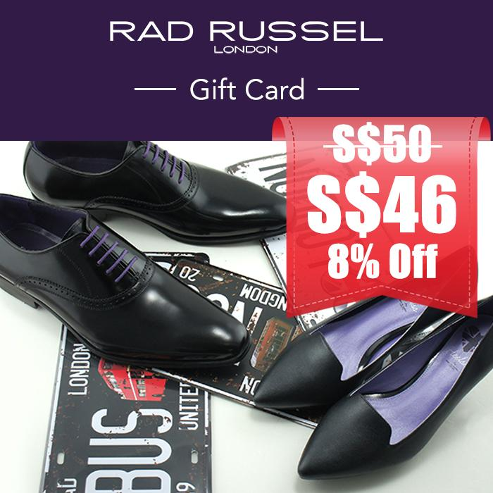 Rad Russel In-Store Gift Card Sgd 50 By Mooments - Digital Gift Cards.