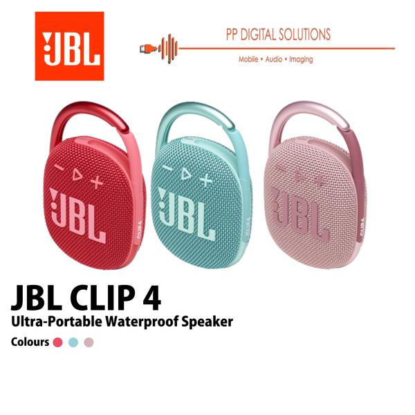 JBL CLIP 4 Ultra-portable Waterproof Bluetooth Speaker Singapore