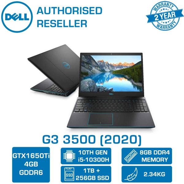 DELL G3 3500-103814GL 15.6 INTEL CORE i5-10300H | 8GB | 1TB+256GB SSD | GTX 1650Ti 4GB | WIN 10